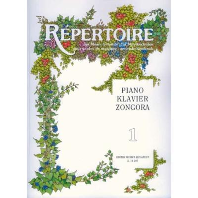 Sármai: Répertoire zeneiskolásoknak - Zongora 1