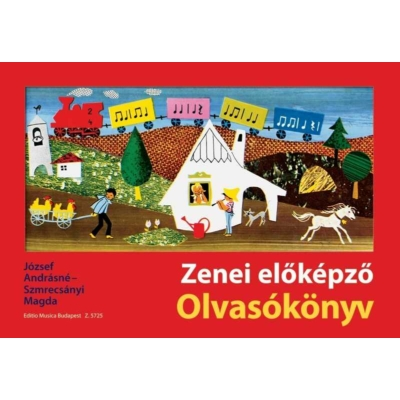 József-Szmrecsányi - Zenei előképző olvasókönyv
