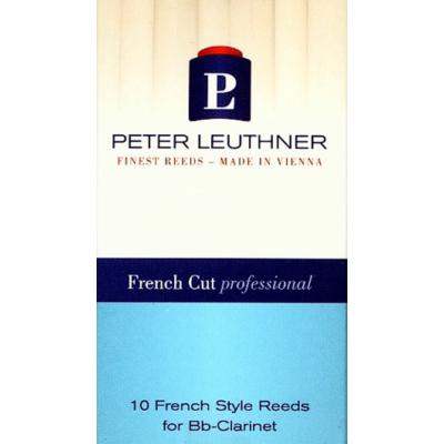 Peter Leuthner Bb-klarinét nád - French Cut Professional