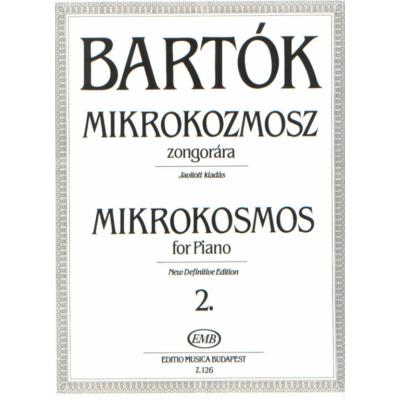 Bartók Béla: Mikrokozmosz zongorára 2