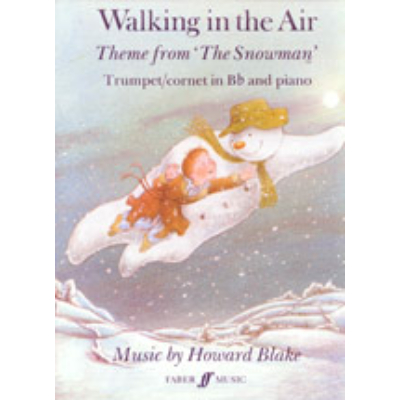 Blake, Howard: Walking in the Air (trumpet and piano)