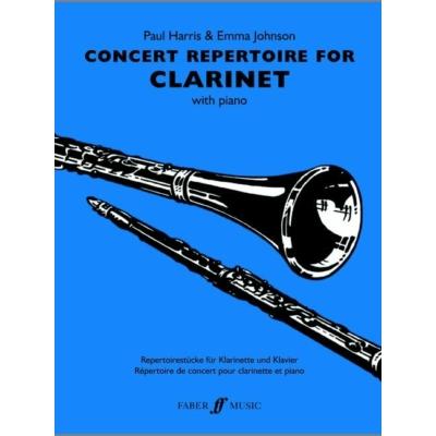 Harris, Paul & Johnson, Emma: Concert Repertoire (clarinet and piano)