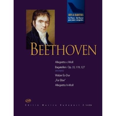 Beethoven, Ludwig van: Hits & Rarities zongorára