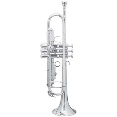 Trevor J. James Renaissance 4500 B-trombita, ezüstözött