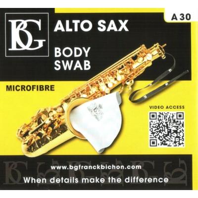 BG Alt szaxofon tisztító kendő - A30