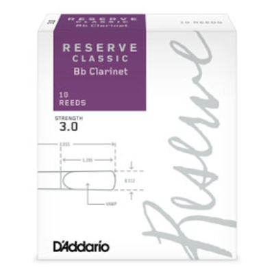 DAddario Reserve Classic B-klarinét nád