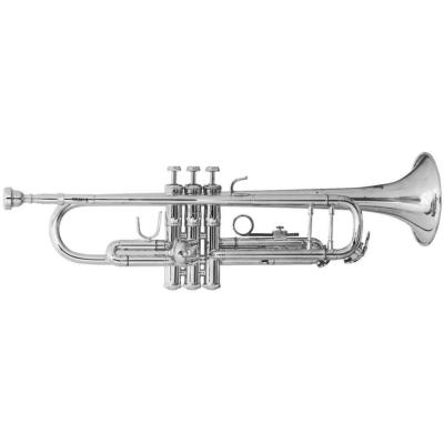 Bach B trombita TR 501S ezüstözött