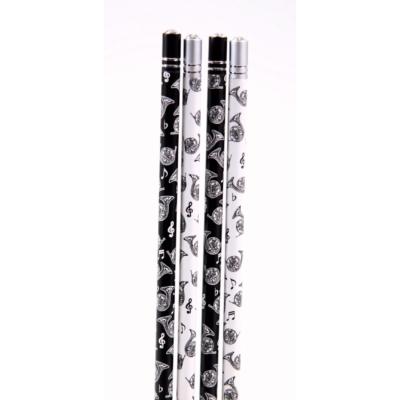 Vadászkürtös ceruza, kristály hatású dekorkővel