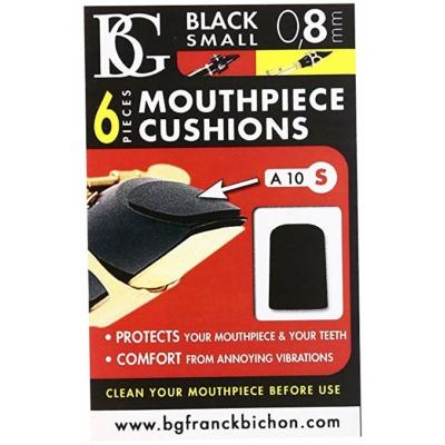 BG A10S fogvédő gumi, kis méret, fekete(0,8mm)