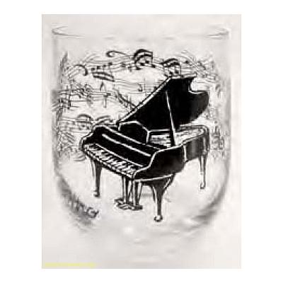 Zongorás pohár