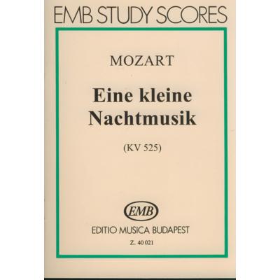 Wolfgang Amadeus Mozart: Eine kleine Nachtmusik KV 525
