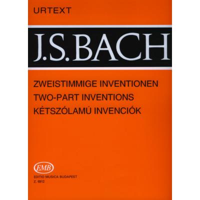 Bach, Johann Sebastian: Kétszólamú invenciók