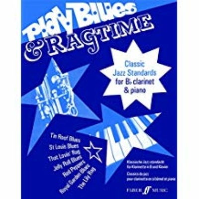 Gout, Alan (arranger): Play Blues & Ragtime (clarinet & piano)
